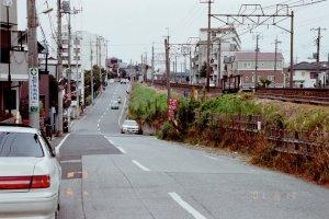 オークフォーミズを背にして吉井町に至るまでの谷の部分