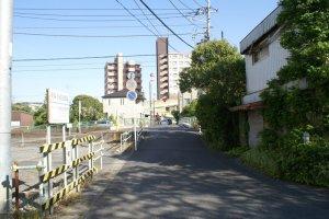 view from Hokubu school