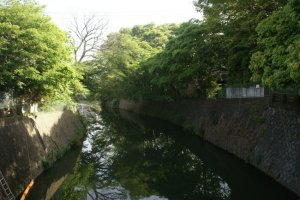 River nearby Akairi-bashi