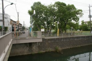 view from nagatsudo-bridge