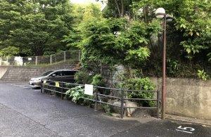 竹ケ花雷電湧水入り口付近から眺める 2021年5月2日撮影