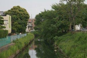 River from Sanyo-bashi