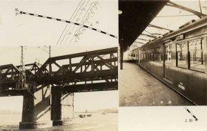 江戸川と上野駅