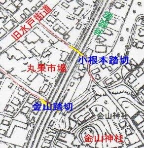 market on map